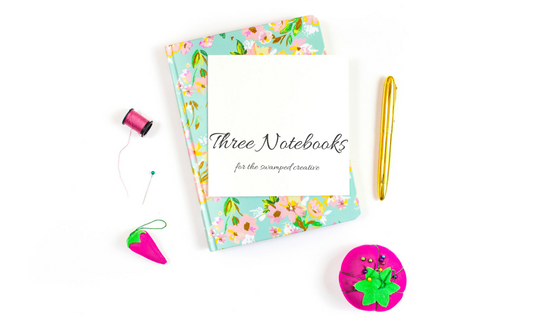 3 Notebooks for the Swamped Creative